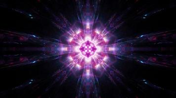Abstract glowing holy shine 3d illustration background wallpaper design artwork