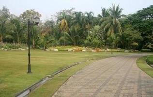 Thailand, 2020 - Landscaped garden during the day
