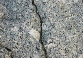 Crack in stone