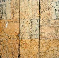 Rustic marble flooring