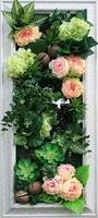 Floral arrangement in box