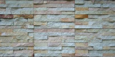 textura de la pared de piedra foto