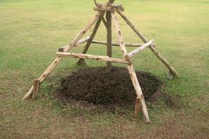árbol de soporte de marco
