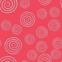 patrón de fondo de textura transparente de vector. dibujados a mano, rojo, colores blancos.