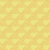 Vector seamless texture background pattern. Hand drawn, yellow, orange colors.