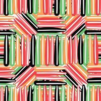 Vector seamless texture background pattern. Hand drawn, colorful.