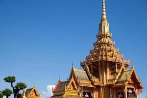 Buddhist temple in Thailand