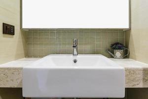 lavabo del baño moderno