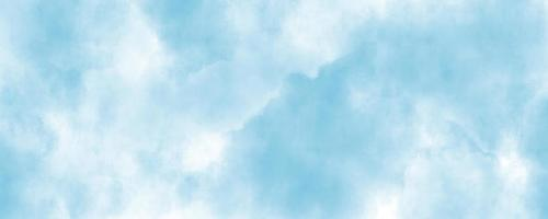 Abstract blue-sky water color background, illustration, texture for design