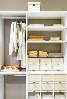Tidy closet interior photo