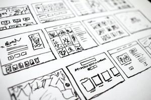 diseños de tv dibujados a mano