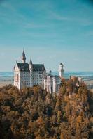 Schwangau, Germany, 2020 - Neuschwanstein Castle during the day photo