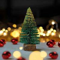 mini arbol de navidad foto