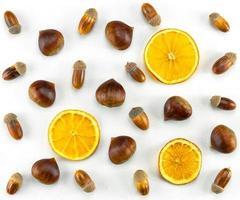 Oranges and acorns