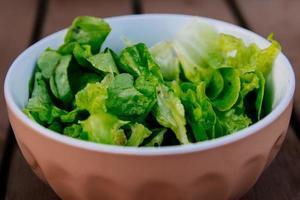 Close-up of a salad bowl