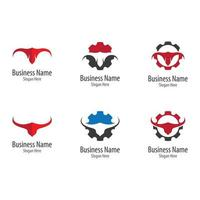 Bull horn logo images