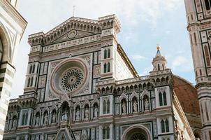 la catedral de florencia, italia foto