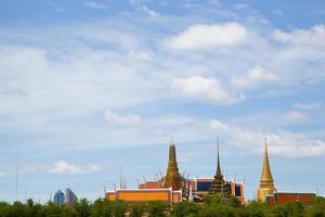 Wat Phra Kaew temple in Thailand
