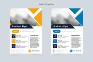 Minimalistic Market Business A4 Flyer Template