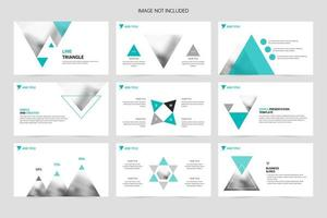 Concise presentation slides for corporate promotion