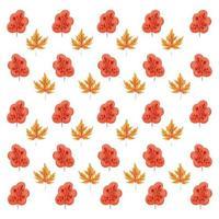 autumn leafs plants seasonal pattern