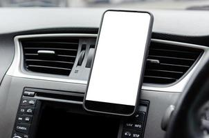 Mobile phone in car