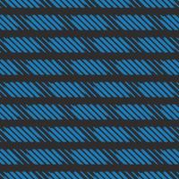 Vector seamless texture background pattern. Hand drawn, black, blue colors.