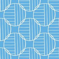 Vector seamless texture background pattern. Hand drawn, blue, white colors.