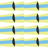 Vector seamless pattern, texture background. Hand drawn, blue, yellow, black, white colors.