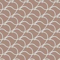 Vector seamless texture background pattern. Hand drawn, brown, white colors.