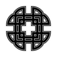 adorno de la cruz celta