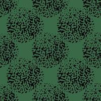 patrón de fondo de textura transparente de vector. dibujados a mano, verde, colores negros.