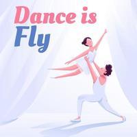 Ballet class social media post mockup