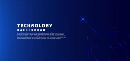 Technology background line data flow and glow light concept.