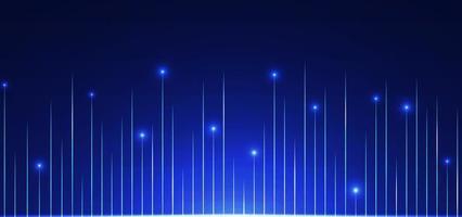 Technology background line pattern design glow light