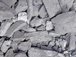 textura de carbón seco foto