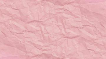 Pink clumped paper