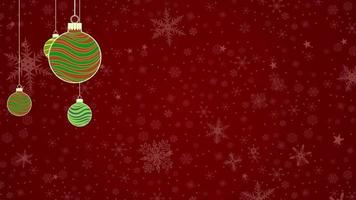 chirstmas funky baubles background