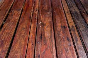 piso de listones de madera para el fondo foto