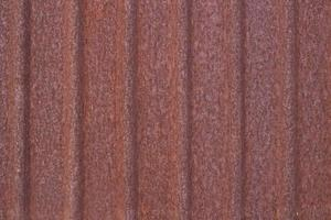 hoja de metal oxidada