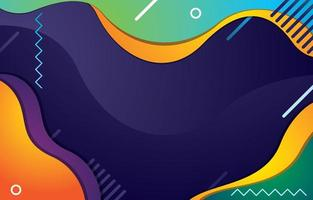 Simple Wave Background Concept and Geometric Accent vector