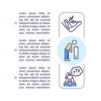 CFS symptoms concept icon with text