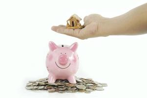 ahorrando para un concepto de casa