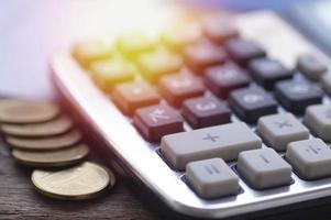 calculadora con monedas