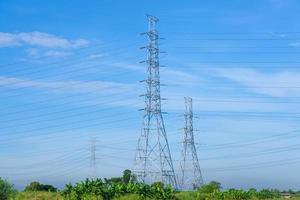 torres de alta tensión en tailandia