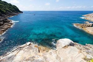 el mar en koh ta chai en tailandia