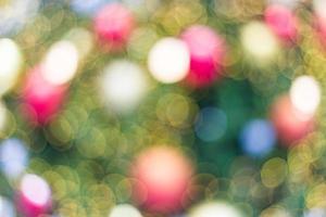 Bokeh of light photo