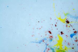 Abstract splatter paint photo