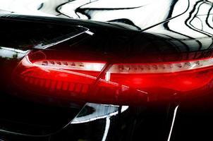luz trasera del coche