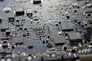 placa de circuito de la computadora